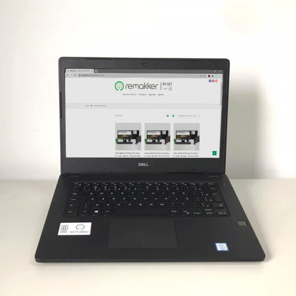 LATITUDE 3480 (DELL - i5 - 8 GB - SSD 240GB) - WINDOWS 10 TRIAL - SEMINOVO REMAKKER
