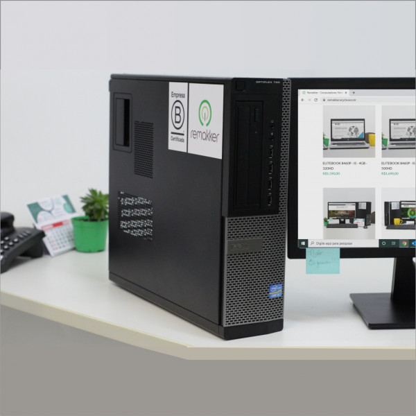 OPTIPLEX 7010 (DELL - i7 - 8 GB - SLIM ) - W10 TRIAL - SEMINOVO REMAKKER